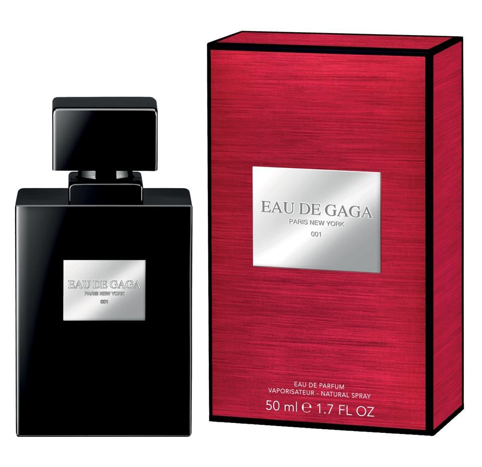 Парфюм Eau de Gaga 001, Lady Gaga, 50 ml, 2 260 рублей