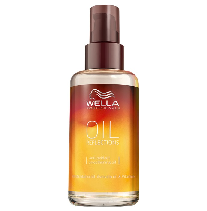 Разглаживающее масло с антиоксидантами, Oil Reflection, Wella Professional, 567 рублей