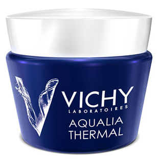 Крем-гель Aqualia Thermal ночной SPA уход, Vichy, 1 063 рубля
