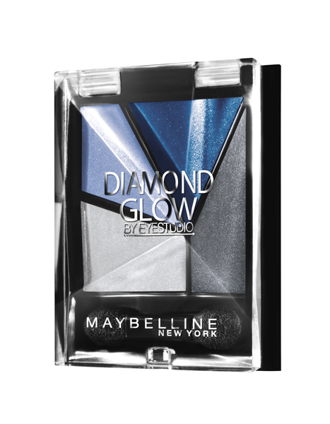 Тени для век Diamond Glow (№ 03), Maybelline NY, 460 рублей