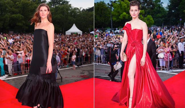 Открытие «Кинотавра» вСочи: чудесные наряды русских звезд накрасной дорожке