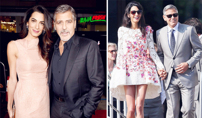 Супруги Клуни ожидают двойню