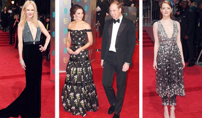 Кейт Мидлтон появилась накрасной дорожке BAFTA впервый раз с2011 года