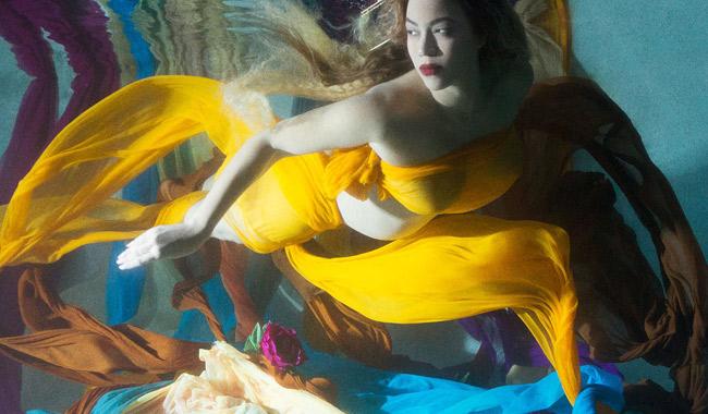 Беременная Бейонсе на100% обнажилась для фотосессии— Прекрасна как Ева